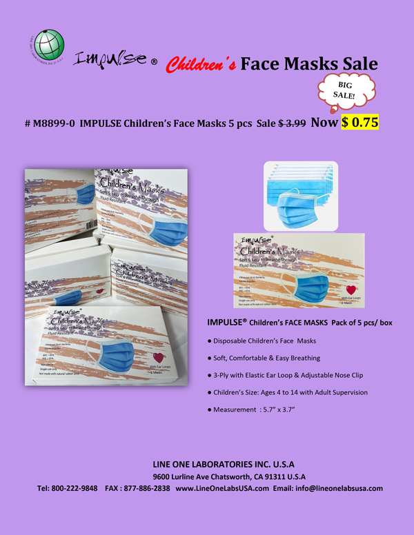 Face Masks Sale Flyer